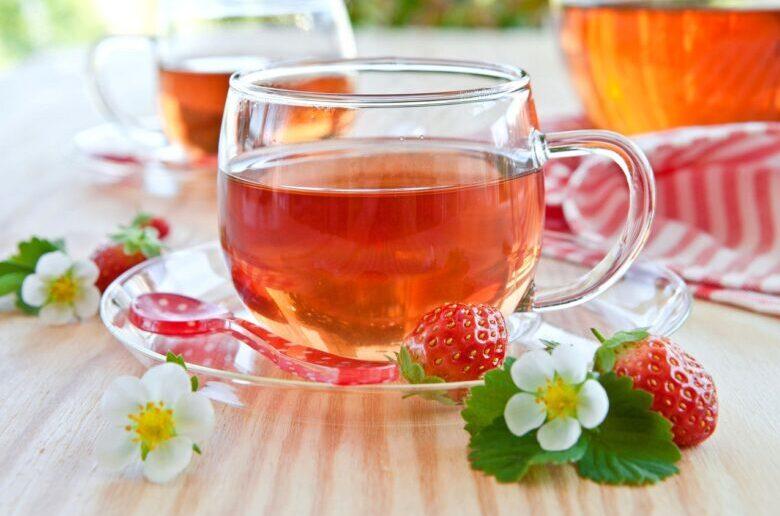 чай с земляникой лечебное применение
