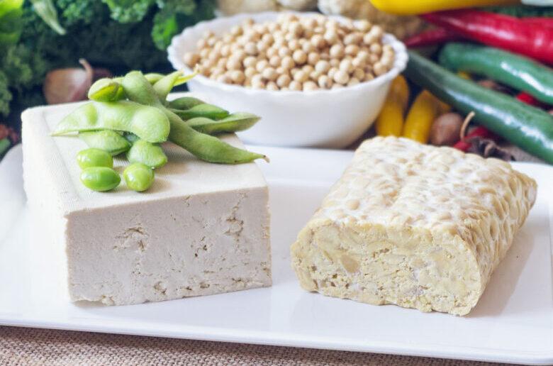 Тофу, темпе и эдамаме - растительные источники белка